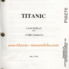 Thumbnail image for Titanic Movie Script