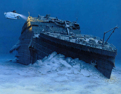 Titanic Wreckage and Artifacts