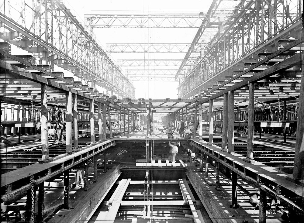 Interior Building Construction : Titanic construction of the