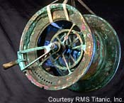 Titanic Telegraph - Photo courtesy of RMS Titanic Inc.