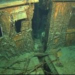 Crew Quarters of the Titanic Wreck