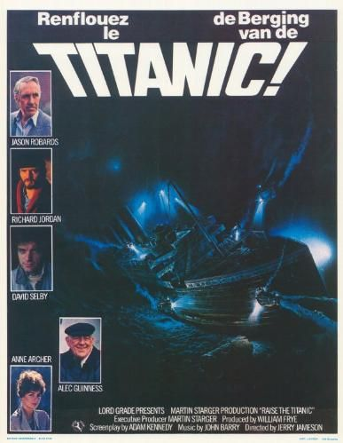 old titanic movie poster
