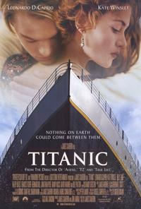 Official Poster for the 1997 James Cameron movie Titanic