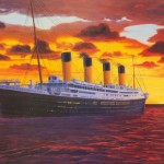 Painted Titanic Poster