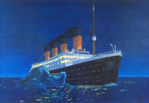 Famous Painting of the Titanic