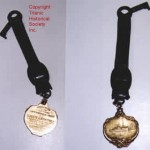 Gold Carpathia Medal Key
