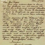 Letter from Titanic Fifth Officer Lowe
