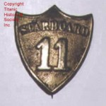 Carpathia Lifeboat Badge