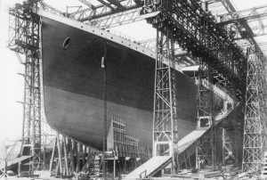 Titanic History - The Construction