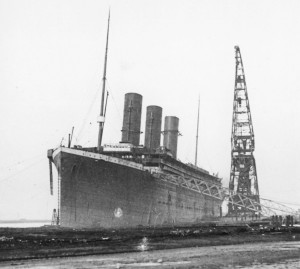 Titanic funnels installed