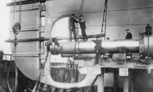 Titanic Propeller Shaft and Rudder