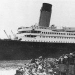 Titanic Leaving Southampton