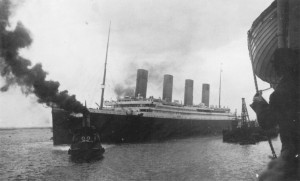 Titanic Departing