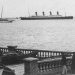 Titanic Passing Isle of Wright