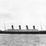 Titanic Arriving in Queenstown