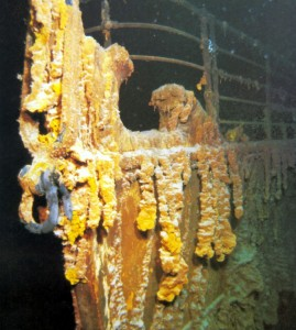 Stem of the Titanic
