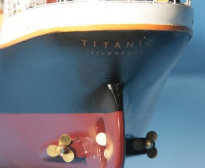 Titanic Model Shp 40-5