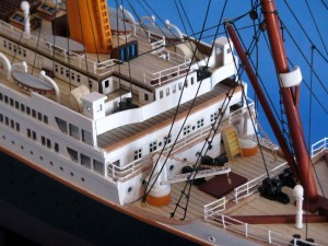 Titanic Model Shp 40-27