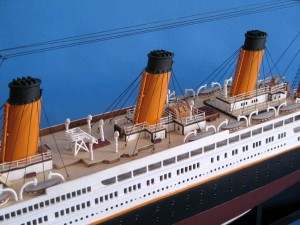 Titanic Model Shp 40-12