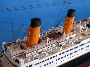 Titanic Model Shp 40-13