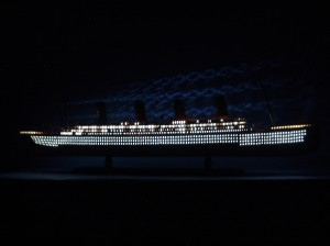 Titanic Model Ship Lights 40-21