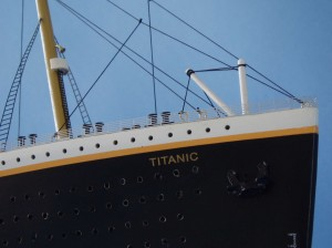 Titanic Model Ship Limited Edition 40-3