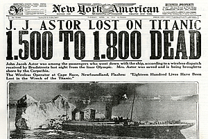 Titanic Newspapers Coverage Compilation From 1912