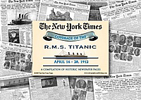Titanic 1912 Newspaper Articles