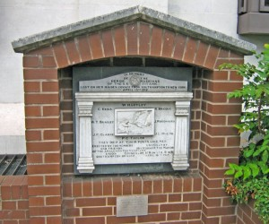 Plaque Dedicated to the Titanic Musicians