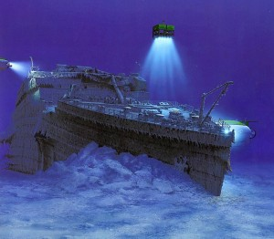 Titanic Dive Expedition 2 - Titanic T1998b2-02 by Ken Marschall