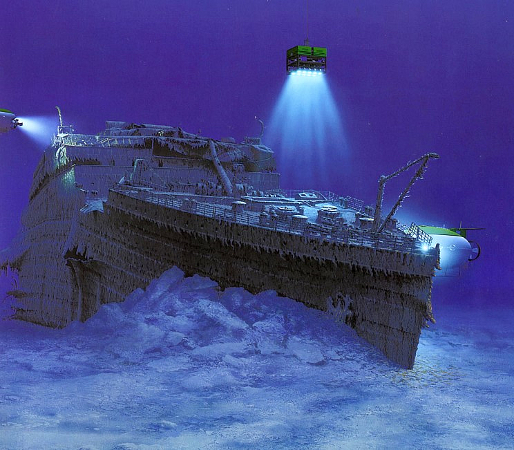 Visit Titanic For $40k On The RMS Titanic Dive Expedition