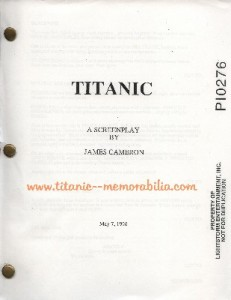 Titanic Script