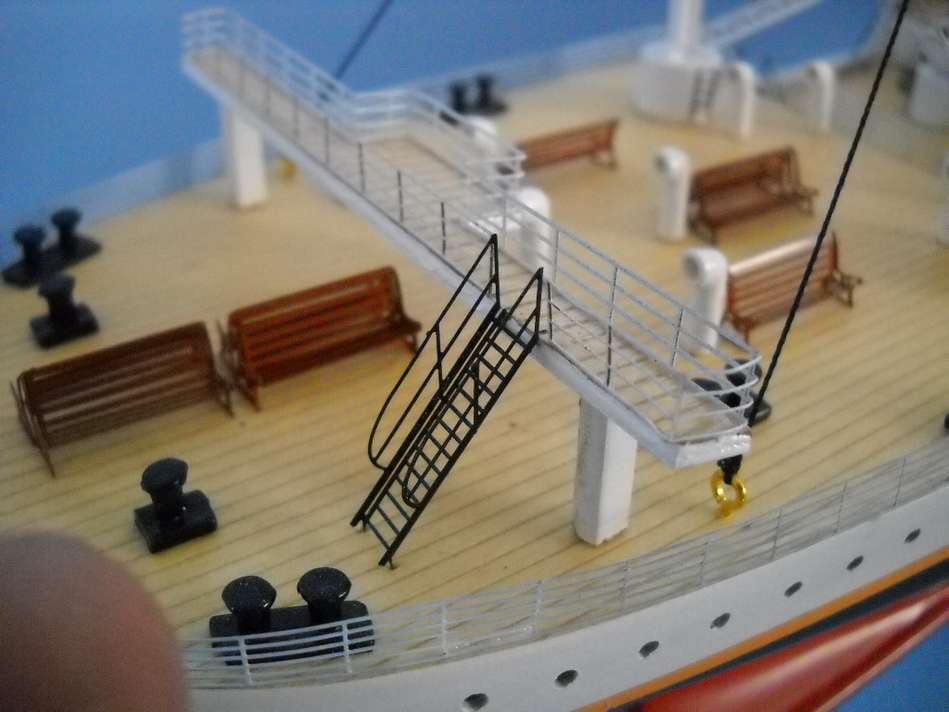 Rms Titanic Model W Lights Limited Edition 50 Quot Assembled