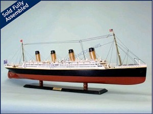 "40"" Titanic Limited Edition Remote Control Model Ship TU-HMS-L40-RC"