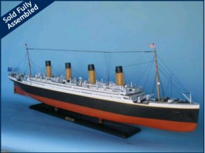 "50"" Titanic Limited Edition Remote Control Model Ship TU-HMS-L50-RC"