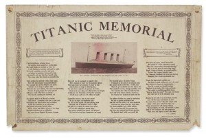 Titanic Ship Broadside