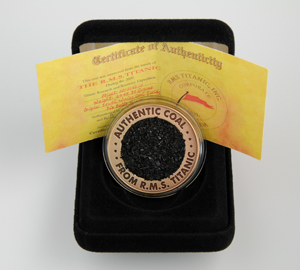 RMS Titanic Commemorative Coal Coin