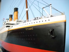 Titanic Limited ship model 50
