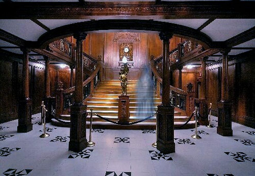 Are titanic exhibits around the country haunted by the spiri.