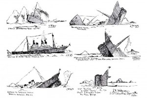 titanic-survivor- stories-jack-thayer-drawing