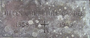Titanic-survivors-helen-churchill-candee-grave