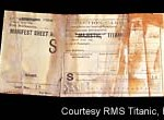 Titanic Inspection Card