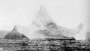 Titanic Wreck Iceberg