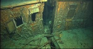 Crew Quarters of the Titanic Wreck