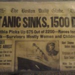 Boston Daily Globe Titanic Article