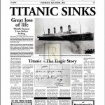 Titanic Newspaper Story