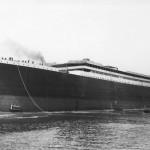 Launching of the Titanic