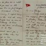 Letter Written Aboard Titanic