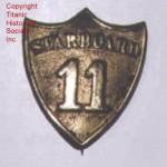 Carpathia Lifeboat Badge