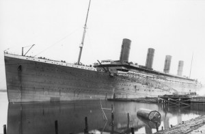 Titanic Fitted with Dummy Funnel